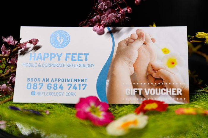 Happy Feet Reflexology gift voucher