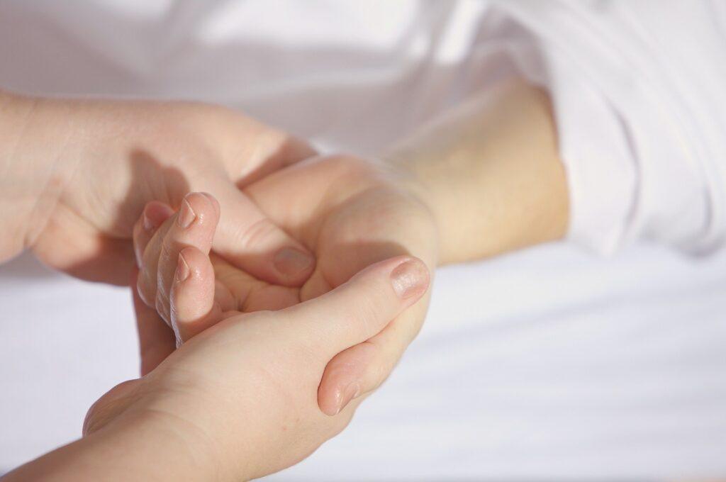 guided hand reflexology