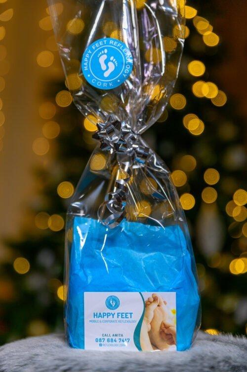 Happy Feet Reflexology Christmas Gift Bag